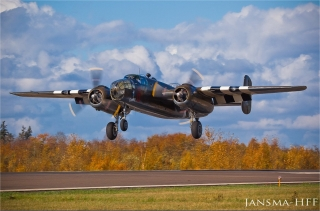 "Historic Flight Foundation's North American B-25 Mitchell, ""Grumpy"""