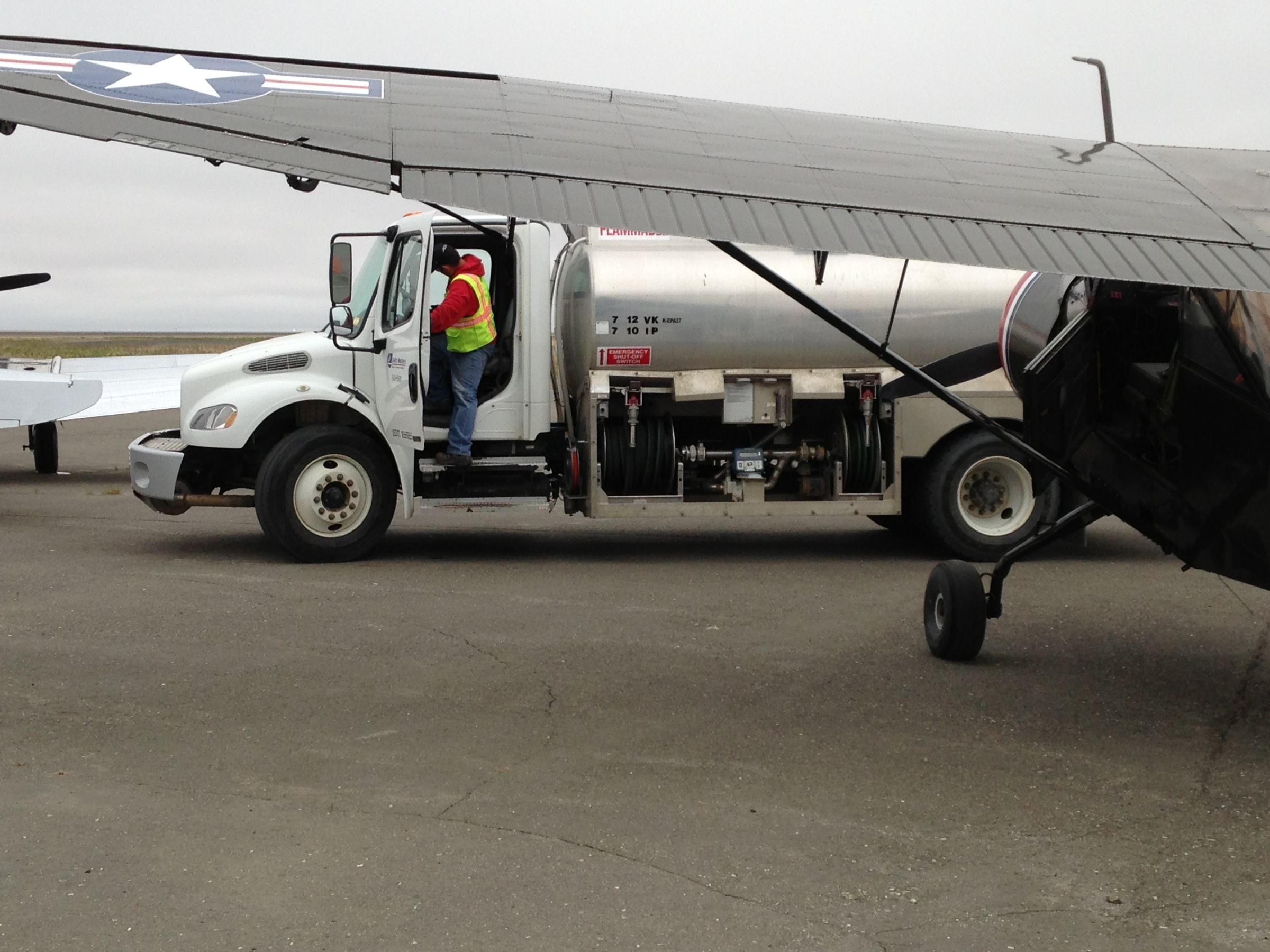 Delta Westerns donation of fuel
