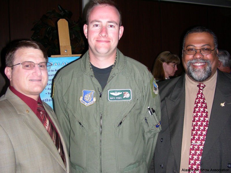 David T. Peters, Maj. Nate -Bar- Vogel, & Karl LeRay