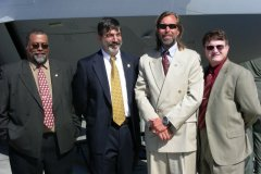 Board Members arl LeRay, Bill Kontess, Marcus Paine, & David T. Peters