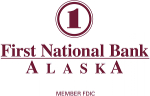 The Association welcomes First National Bank of Alaska as a sponsor