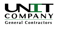 The Association welcomes Unit Construction as a sponsor